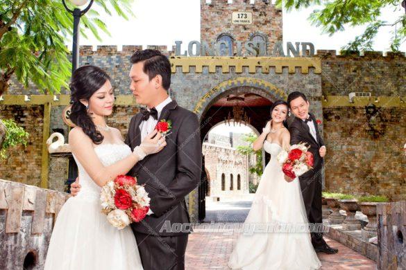 Ảnh cưới chụp phòng Studio